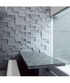VT - PB11 (B1 siwo biały) CUB - panel dekor 3D beton architektoniczny