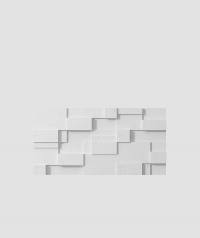 PB11 (B1 gray white) CUB - 3D architectural concrete decor panel