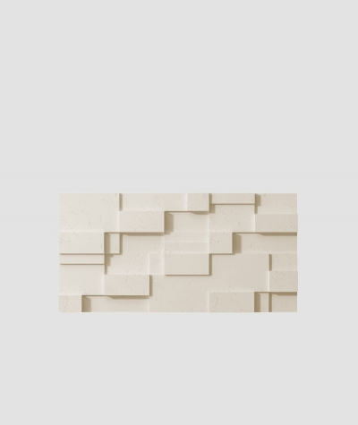 PB11 (KS ivory) CUB - 3D architectural concrete decor panel