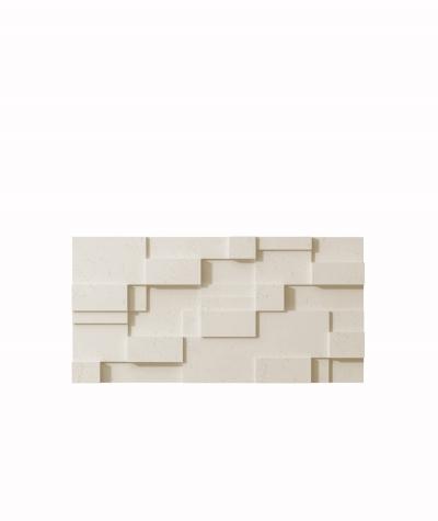 VT - PB11 (KS ivory) CUB - 3D architectural concrete decor panel
