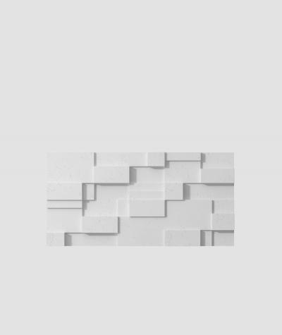 VT - PB11 (S50 light gray - mouse) CUB - 3D architectural concrete decor panel