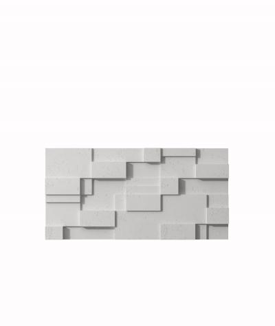 PB11 (S51 dark gray 'mouse') CUB - 3D architectural concrete decor panel