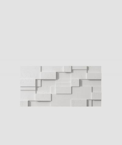 PB11 (S95 light gray 'dove') CUB - 3D architectural concrete decor panel