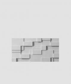 VT - PB11 (S96 dark gray) CUB - 3D architectural concrete decor panel