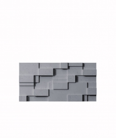 VT - PB11 (B8 antracyt) CUB - panel dekor 3D beton architektoniczny