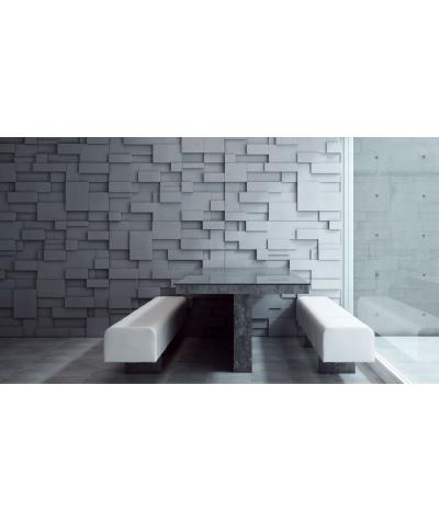 PB11 (B15 black) CUB - 3D architectural concrete decor panel