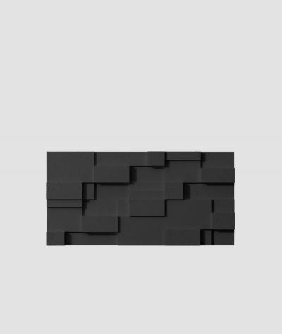 VT - PB11 (B15 black) CUB - 3D architectural concrete decor panel