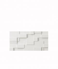 PB11 (BS snow white) CUB - 3D architectural concrete decor panel