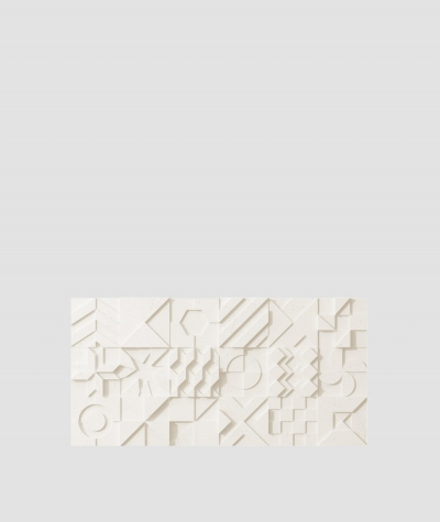 PB12 (B0 white) IKON - 3D architectural concrete decor panel