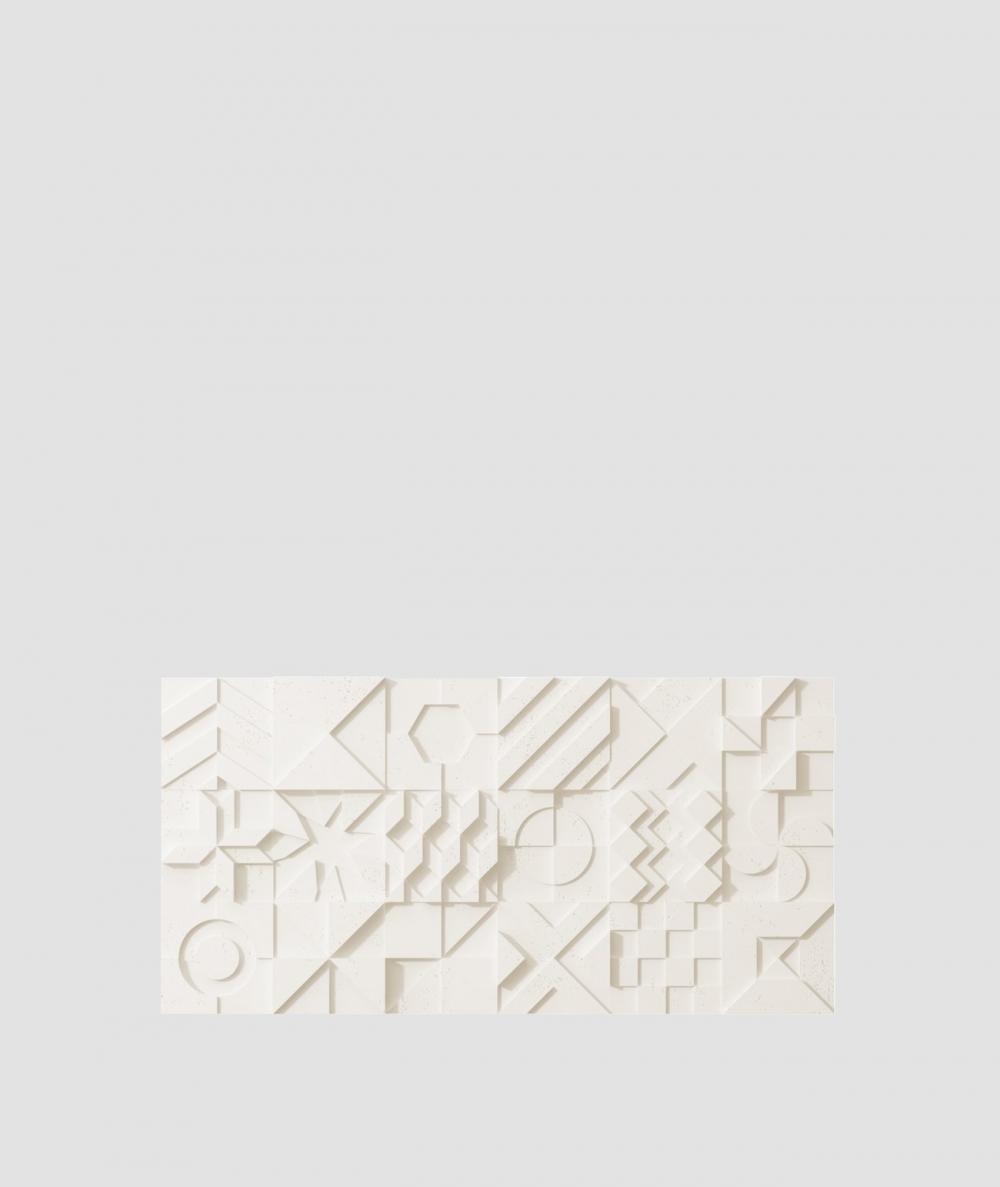 VT - PB12 (B0 white) IKON - 3D architectural concrete decor panel