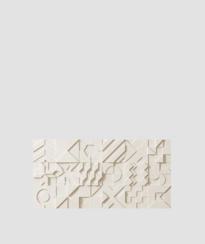 PB12 (KS ivory) IKON - 3D architectural concrete decor panel