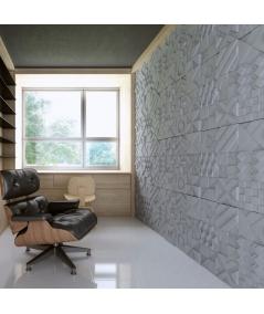VT - PB12 (S50 jasno szary 'mysi') IKON - panel dekor 3D beton architektoniczny