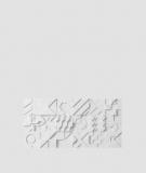 VT - PB12 (S50 jasno szary - mysi) IKON - panel dekor 3D beton architektoniczny