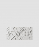 VT - PB12 (S51 ciemno szary - mysi) IKON - panel dekor 3D beton architektoniczny