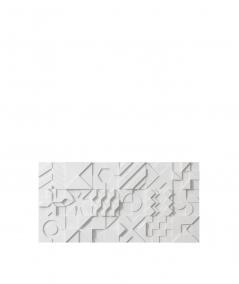 VT - PB12 (S95 jasny szary 'gołąbkowy') IKON - panel dekor 3D beton architektoniczny