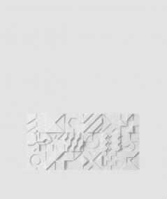 VT - PB12 (S95 light gray - dove) IKON - 3D architectural concrete decor panel