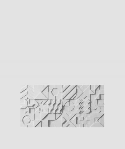VT - PB12 (S96 dark gray) IKON - 3D architectural concrete decor panel