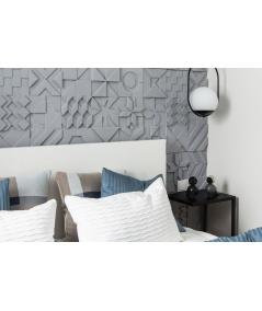 PB12 (B8 anthracite) IKON - 3D architectural concrete decor panel