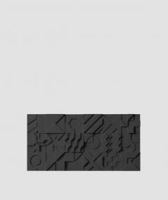 VT - PB12 (B15 czarny) IKON - panel dekor 3D beton architektoniczny