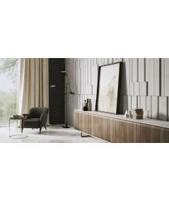 VT - PB13 (B1 snow white) KOD - 3D architectural concrete decor panel