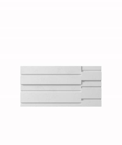 VT - PB13 (B1 siwo biały) KOD - panel dekor 3D beton architektoniczny