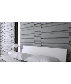 VT - PB13 (S50 light gray - mouse) KOD - 3D architectural concrete decor panel