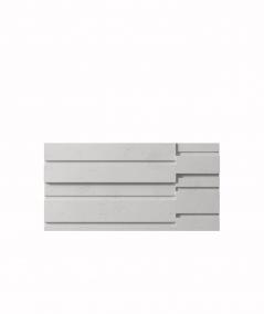 PB13 (S51 dark gray 'mouse') KOD - 3D architectural concrete decor panel