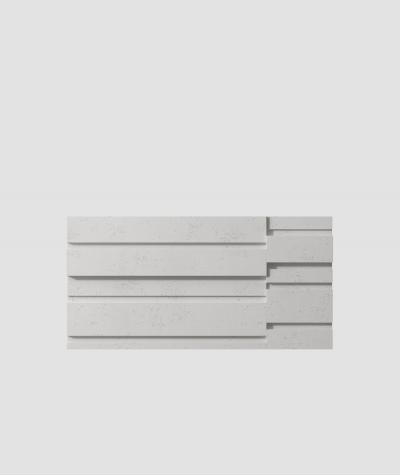 VT - PB13 (S51 dark gray - mouse) KOD - 3D architectural concrete decor panel