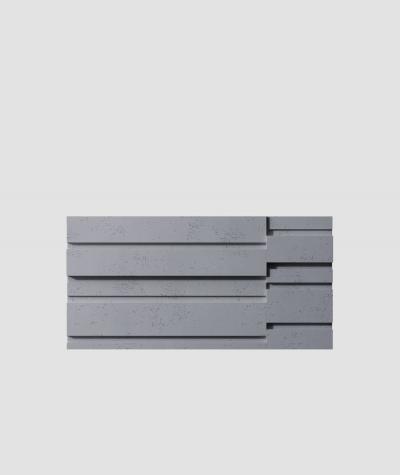 VT - PB13  (B8 antracyt) KOD - panel dekor 3D beton architektoniczny