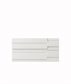 VT - PB13 (BS śnieżno biały) KOD - panel dekor 3D beton architektoniczny