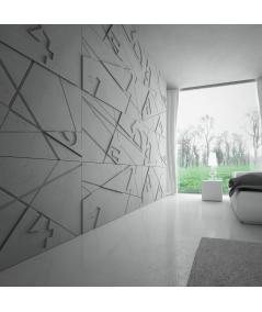 VT - PB14 (B0 biały) GRAF - panel dekor 3D beton architektoniczny