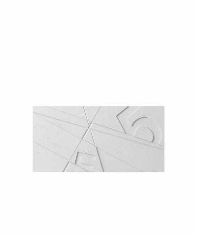 VT - PB14 (B1 siwo biały) GRAF - panel dekor 3D beton architektoniczny