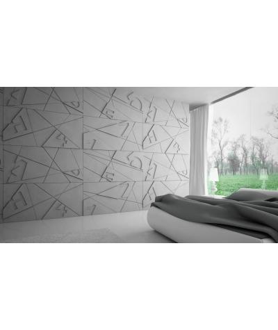 VT - PB14 (KS kość słoniowa) GRAF - panel dekor 3D beton architektoniczny