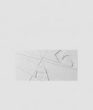 VT - PB14 (S50 jasny szary - mysi) GRAF - panel dekor 3D beton architektoniczny