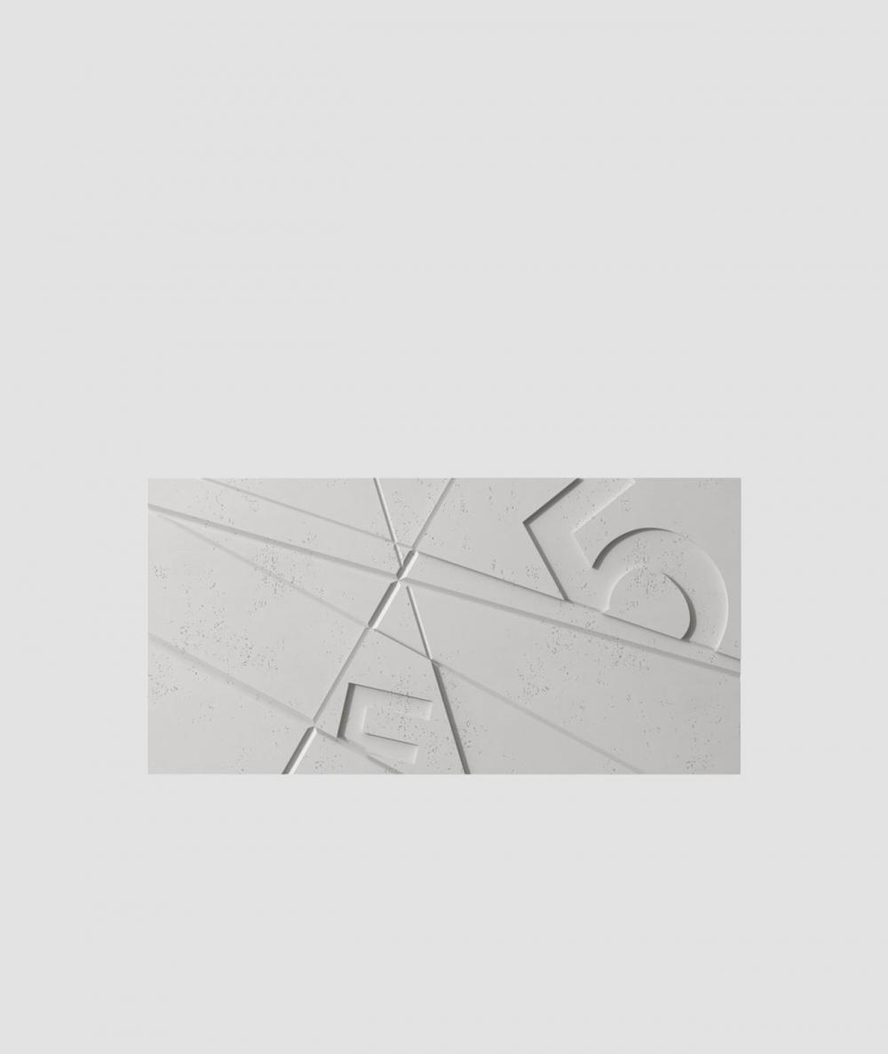 VT - PB14 (S51 ciemny szary 'mysi') GRAF - panel dekor 3D beton architektoniczny