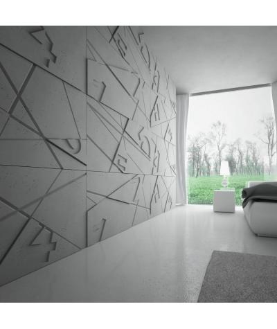 PB14 (S95 light gray 'dove') GRAF - 3D architectural concrete decor panel