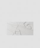 VT - PB14 (S95 jasny szary - gołąbkowy) GRAF - panel dekor 3D beton architektoniczny