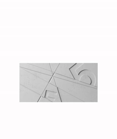 VT - PB14 (S96 ciemny szary) GRAF - panel dekor 3D beton architektoniczny