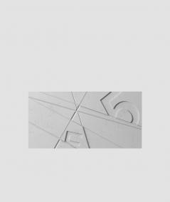 PB14 (S96 dark gray) GRAF - 3D architectural concrete decor panel
