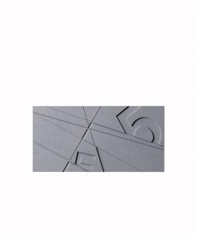 PB14 (B8 anthracite) GRAF - 3D architectural concrete decor panel