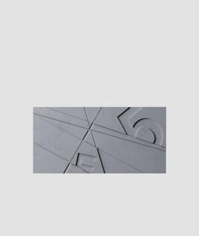 VT - PB14 (B8 anthracite) GRAF - 3D architectural concrete decor panel