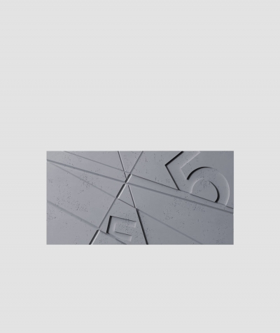 VT - PB14 (B8 antracyt) GRAF - panel dekor 3D beton architektoniczny