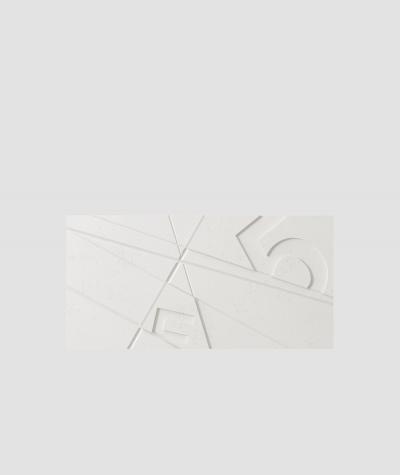 PB14 (BS snow white) GRAF - 3D architectural concrete decor panel