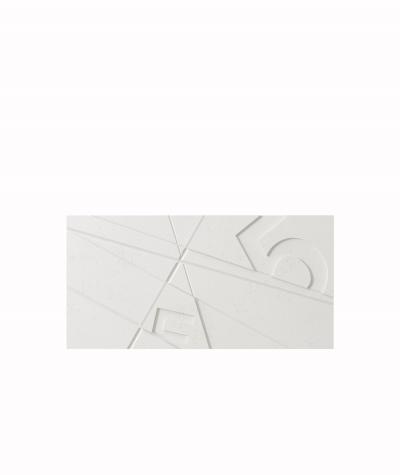 VT - PB14 (BS snow white) GRAF - 3D architectural concrete decor panel