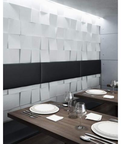 VT - PB16 (KS kość słoniowa) COCO 2 - panel dekor 3D beton architektoniczny