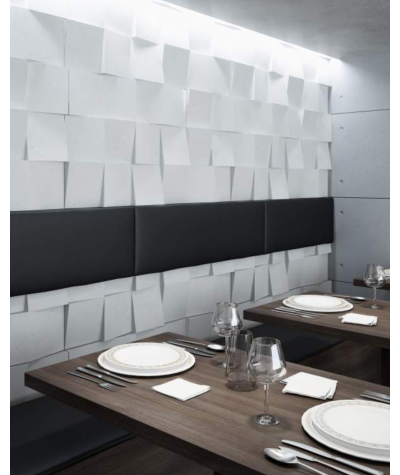 PB16 (B15 black) COCO 2 - 3D architectural concrete decor panel