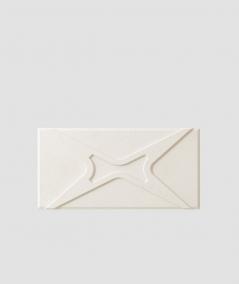 VT - PB17 (B0 biały) MODUŁ X - panel dekor 3D beton architektoniczny