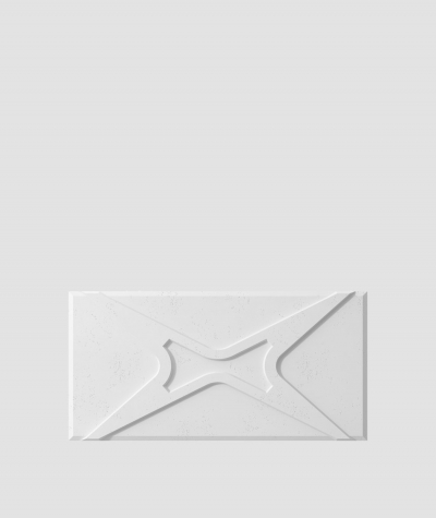 PB17 (B1 gray white) MODULE X - 3D architectural concrete decor panel
