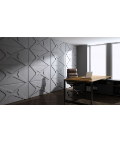 VT - PB17 (KS kość słoniowa) MODUŁ X - panel dekor 3D beton architektoniczny