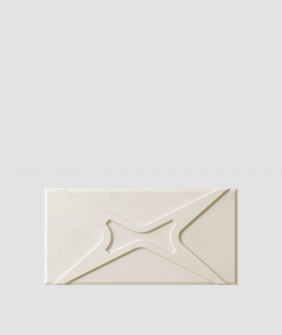 PB17 (KS ivory) MODULE X - 3D architectural concrete decor panel